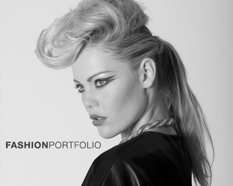 fashion portfolio button